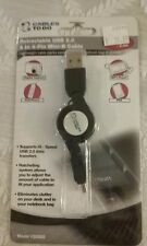 NEW Cables To Go (CTG) Retractable USB 2.0 A to 4 Pin Mini B Cable