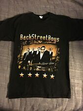 Back Street Boys 2010 Tshirt Men's Sz S NEW Mint