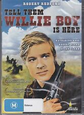 TELL THEM WILLIE BOY IS HERE DVD REGION 4 PAL NEW
