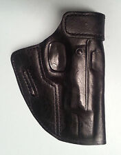 CZ 75B, Black Leather Holster, Rt. Hand, Forward CANT