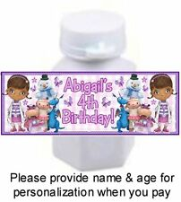 30 Doc McStuffins Birthday Party Or Baby Shower Mini Bubble Sticker Label Dottie