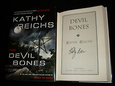 Kathy Reichs signed Devil Bones 1st printing hardcover book