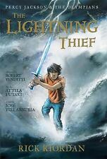 The Lightening Thief by Rick Riordan & Robert Venditti Paperback Book 2010 New