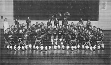 Ohio Postcard Old CARDINGTON High School Band Members