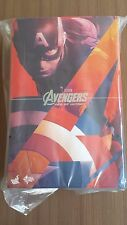 Hot Toys MMS 281 Avengers Age of Ultron Captain America Chris Evans 12 inch NEW