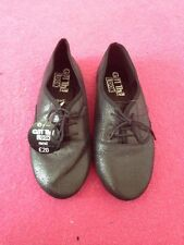 Next Shoes - Uk Size 7 - Brand New - Bnwt - Black Crackle Shine Flats