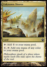 MTG 4x UNKNOWN SHORES - COSTE SCONOSCIUTE - THS - MAGIC