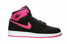 Nike Air Jordan Girls 1 Retro High Basketball Shoes Size 3Y