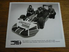 UNIPART F3 RACING CAR, MANSELL, ( TRIUMPH DOLOMITE CONNECTED), PUBLICITY PHOTO