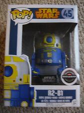 """STAR WARS R2-B1 Astromech Droid Funko Pop #45 """"HOT"""" & VHTF!"""