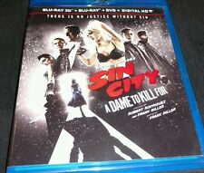 Frank Millers Sin City: A Dame to Kill For 3D  Blu-ray + Case + Artwork Only )