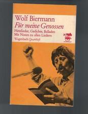 Wolf Biermann - Für meine Genossen - 1976