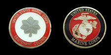 US MARINE CORPS LIEUTENANT COLONEL RANK CHALLENGE COIN MILITARY COLLECTIBLE