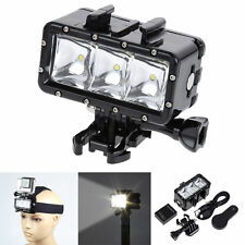 Underwater Waterproof Diving Spot LED Light Mount for GoPro Hero 3+ 4 Camera New