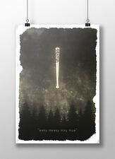 """The Walking Dead Poster-Negan """"Eeny Meeny Miny Moe"""""""