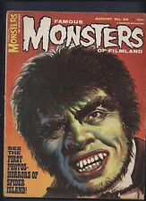 Famous monsters of Filmland magazine #34 Horror of spider Island Universal movie