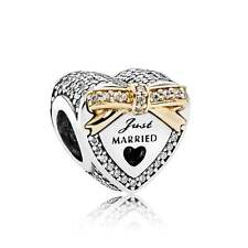 NEW! Authentic Pandora Wedding Heart Clear CZ Charm #792083CZ $95