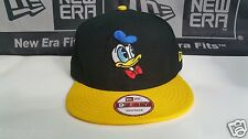 Disney Donald Duck New Era 9Fifty Snapback Hat Black/ Yellow RARE
