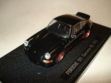Ebbro Oldies Black/Red Piping Porsche 911 Carrera RS 1973 Diecast 1:43 NIB