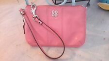 COACH 46726 JULIA PATENT LEATHER ZIPPY WALLET  pink