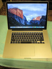 Apple RETINA Macbook Pro 15in 2014 16GB, 1TB, Nvidia, new battery