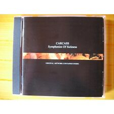 "Carcass ""Symphonies Of Sickness"" Jewelcase CD - NEW"