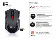 Newly 2.4Ghz Mini High Speed portable Wireless Optical Gaming Mouse Mice For PC