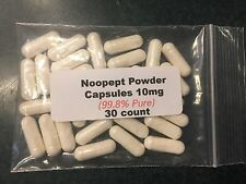 Noopept Powder Capsules (99.8% Pure)  10mg  30 count