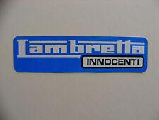 Lambretta innocenti scooter cyclomoteur autocollant boîte à outils mécanique réfrigérateur rétro autocollant