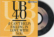 CD CARTONNE CARDSLEEVE UB 40 2T DE 1993 I CAN'T HELP FALLING IN LO