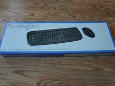 BRAND NEW Kensington Pro Fit 2.4GHz Wireless Desktop Set with Keyboard and Mouse