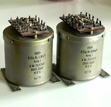 RARE: Pair WSW 761474s 200 ohm line transformers from 1960s recording console