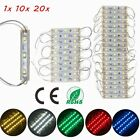 5050 SMD 3 LED Module LED Strip String Light Multi-Colors Waterproof DC 12V