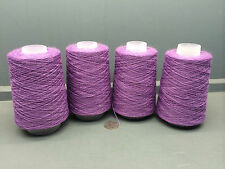 4x200g 2/18nm 83% Lana 17% de nylon hilo Morado Heather Lavanda