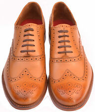 Gentleman Classic wing tip oxford richelieu à Grenson Dylan tan taille uk 10 f coupe