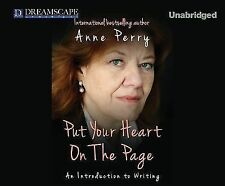 How To. .: Put Your Heart on the Page 1 by Anne Perry (2014, CD, Unabridged)