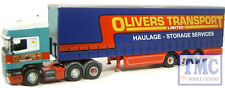 SCA07CS Oxford Diecast 1:76 Scale OO Gauge Olivers Transport Scania