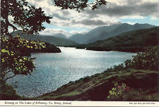 BF12979 kerry evening on the lakes of killarney  ireland  front/back image