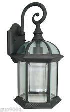 Outdoor Exterior Lantern Lighting Fixture Outdoor Wall Sconce Black
