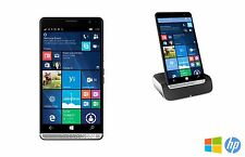 HP Elite X3 64GB Windows 10 Smartphone with Charging Desk Dock - GRADE A