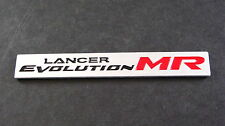 Lancer Evolution MR Mitsubishi Aluminium Badge