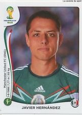 N°085 JAVIER HERNANDEZ # MEXICO STICKER PANINI WORLD CUP BRAZIL 2014