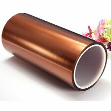 200mm X100ft High Temperature 280° Heat Resistant Tape Polyimide 20CM