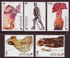NEW ZEALAND 2004 WORLD OF WEARABLE ART SET OF 5 FINE USED