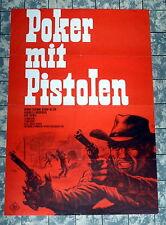 POKER MIT PISTOLEN * Hilton, Eastman - A1-Filmposter - German 1-Sheet 1967 DILL