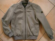(J145) Finger in the Nose Boys Übergangs Jacke Lederjacke + Logo Aufnäher gr.164