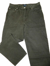 Fit: 36x32 Indigo Palms Relaxed Fit Stonewashed Brushed Cotton Brown Jeans