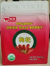 ORGANIC DRIED GOJI BERRIES WOLFBERRY BERRY 8OZ