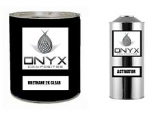 ONYX COMPOSITES AUTOMOTIVE CLEAR COAT FAST DRY 2K URETHANE, 4:1 GALLON CLEARCOAT