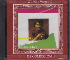 Wilfredo Vargas Mas Que un Loco Vol 5 De Coleccion CD New Nuevo Sealed